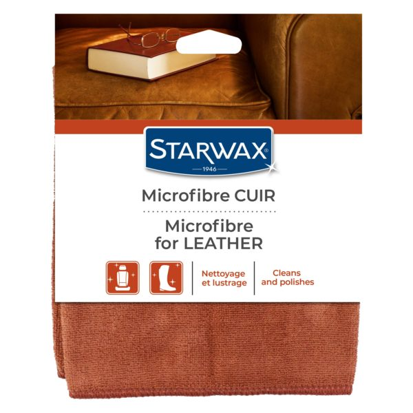Microfibre for leather