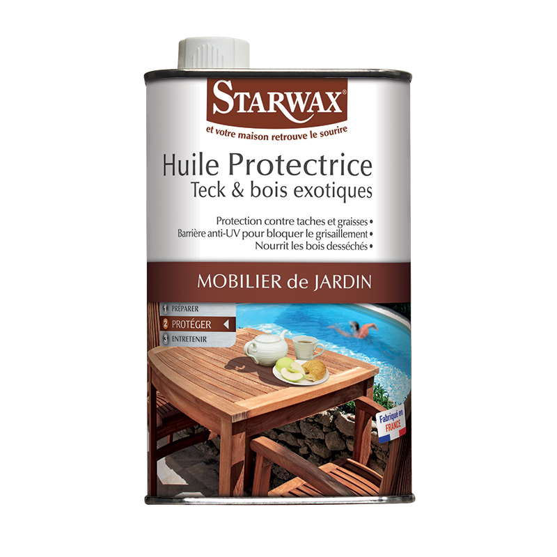 Teak & tropical wood oil | Starwax, cleanliness of the house