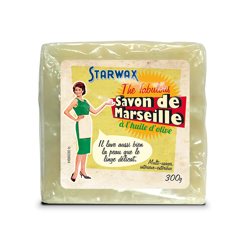 Marseille soap cube - Starwax The Fabulous