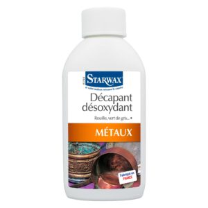 Deoxidizing stripper for metals starwax
