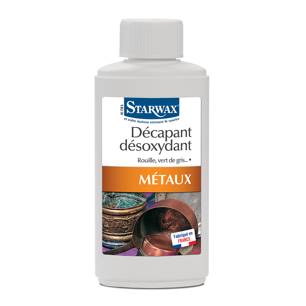 Deoxidizing stripper for metals - Starwax