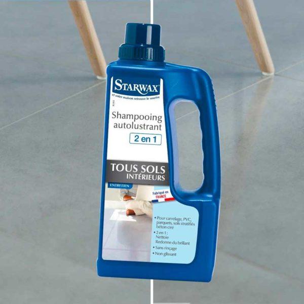 Floor shine cleaner starwax