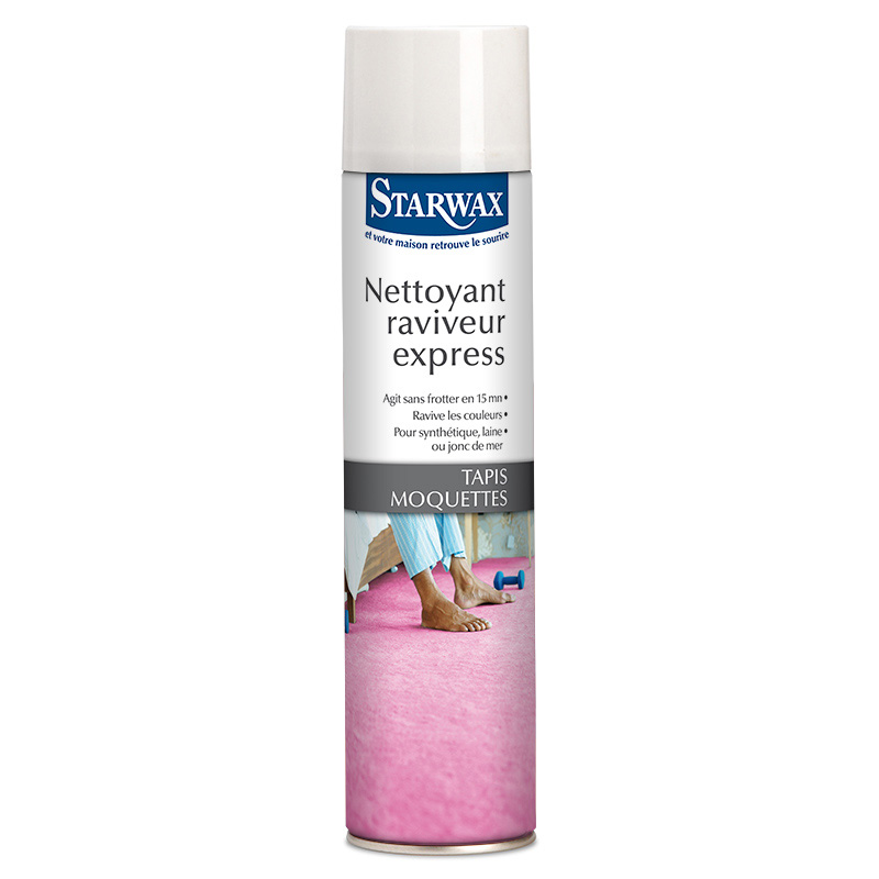 Express cleaner reviver for rugs and carpets – Starwax