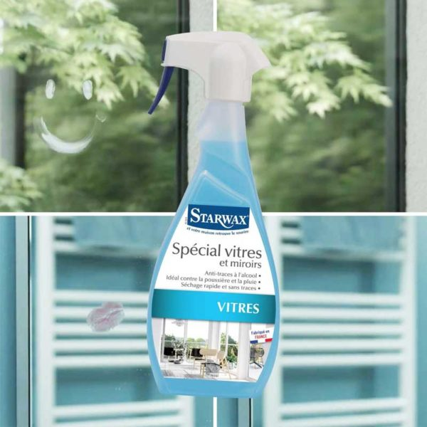 Alcohol-based window cleaner