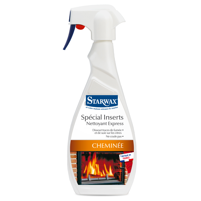 Express fireplace glass & hearth cleaner - Starwax