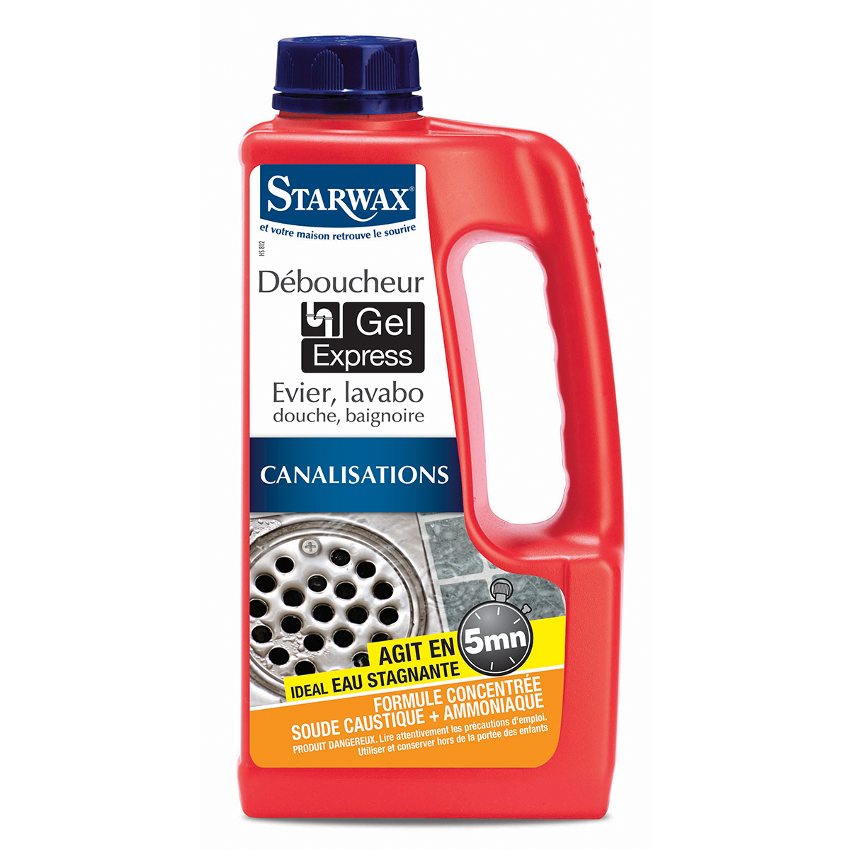 Express 5 min gel drain opener - Starwax