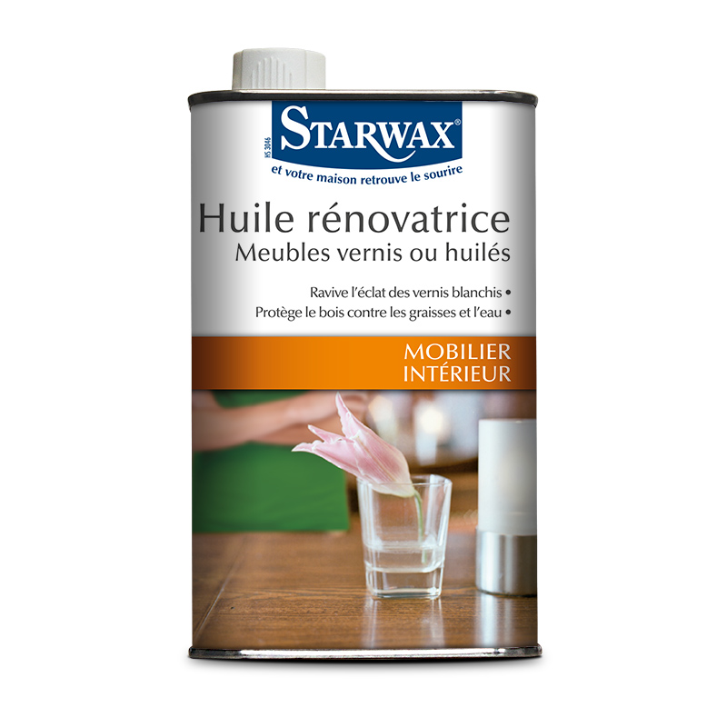 Renovating oil finish for varnished wood - Starwax