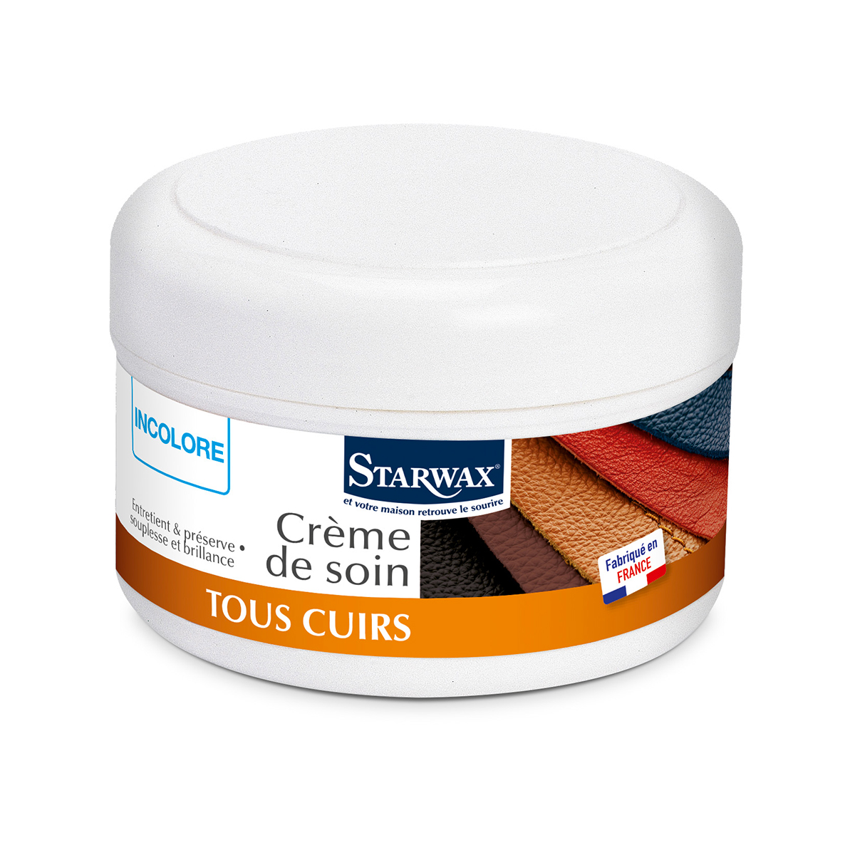 Neutral nourishing cream for leather – Starwax