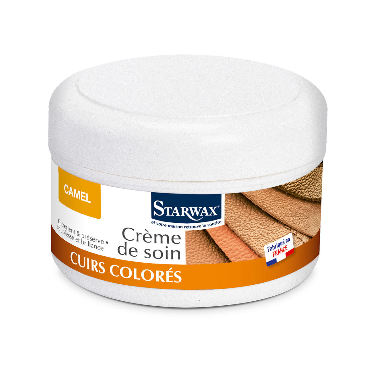 Coloured renovating cream for leather - Starwax