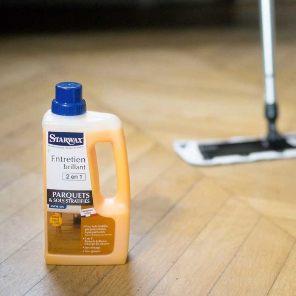 Cleaner reviver for varnished parquet Starwax