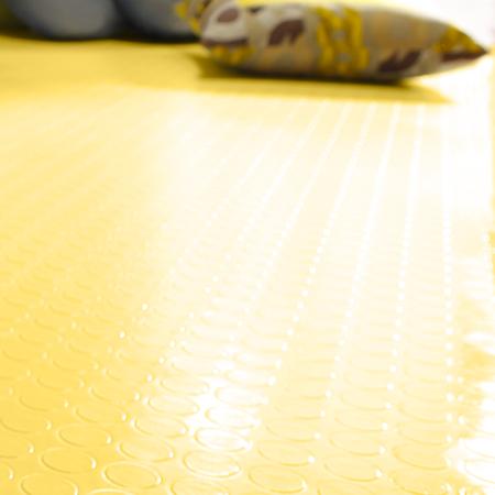 Plastic floors